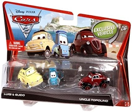 LUIGI /& GUIDO TWIN PACK NEW DISNEY PIXAR CARS 3