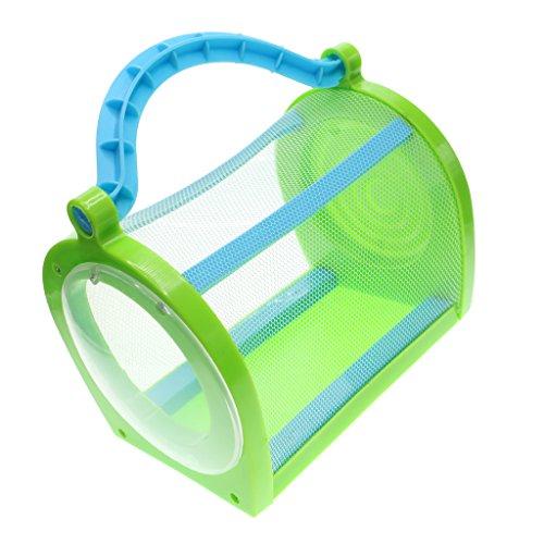 Homyl Jaula de Insecto de Plástico Accesorios de Jardín Césped Patio Balcón Portable - Verde