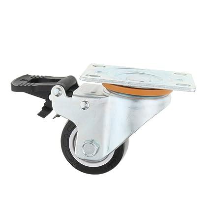 P Prettyia Rueda Giratoria Tornillo Accesorios para Sillas de Ruedas Scooters Electricas - Blanco