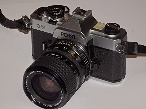 Cámara Réflex Fotos porst CR1 CR1 – SLR Camera Inclusive Objetivo ...