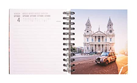Amazon.com : Erik Agenda ESCOLAR London Daily Planner, Dated ...