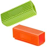 MOSY TECH 2 Pack Hollow Rubber Pet Dog Cat Hair Remover Cars Furniture Carpet Clothes Sofa Cleaner Brush