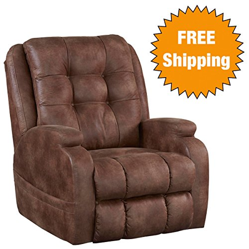 Catnapper Power Lift Full Lay-Flat Recliner with Comfort Coil Seating Featuring Comfor-Gel -