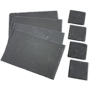 Amazon Com Vonshef 8 Piece Set 4 X Placemats 4 X
