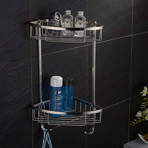 Grifo de acero inoxidable para baño o ducha, 2 niveles ...