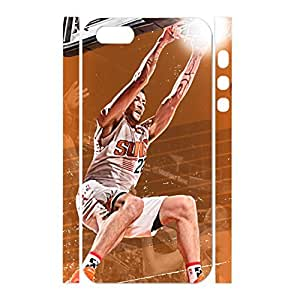 Flexible Designer Hipster Physical Game Basketball Athlete Print Phone Shell Skin for Iphone 5 5s Case