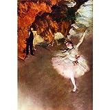 Edgar Germain Hilaire Degas (The Prima Ballerina) Art Poster Print