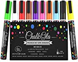 Best Colored Markers - Chalk Markers - Pack of 10 neon colour Review