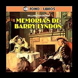 Memorias de Barry Lyndon [The Memoirs of Barry Lyndon]