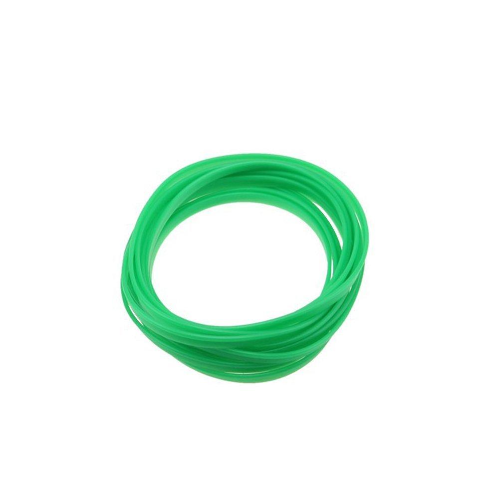 decorazione da auto che riproduce la linea di modanatura esterna Adesivo universale per interni ed esterni dell/'auto lunghezza 5/m . di colore verde Winomo
