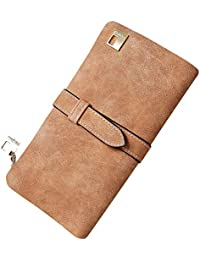 Large and Long Fashion Leather Wallet for Women and ladies O