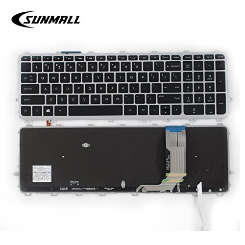 SUNMALL Laptop Keyboard Replacement Compatible with HP Envy 15-J 17-J 15-j000 15-j100 15t-J000 15t-j100 15z-j000 17-j000 17t-j000,HP TouchSmart 15-J 15T-J 17-J 17T-J 15-J000 17-J000 US Layout (Best Price Hp Envy 17 Laptop)