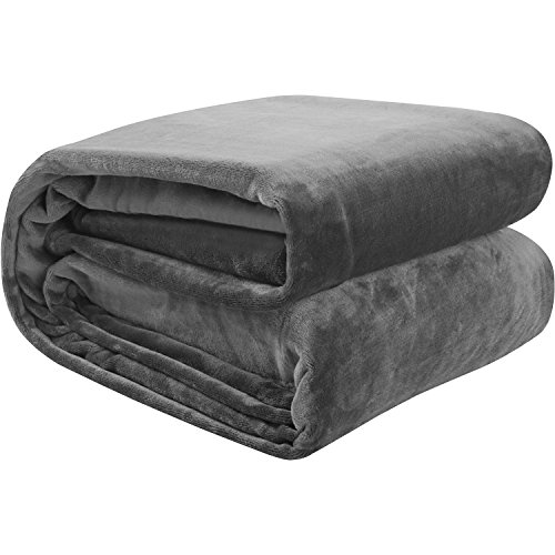 Utopia Bedding - Flannel Fleece Blanket  - Plush Microfiber