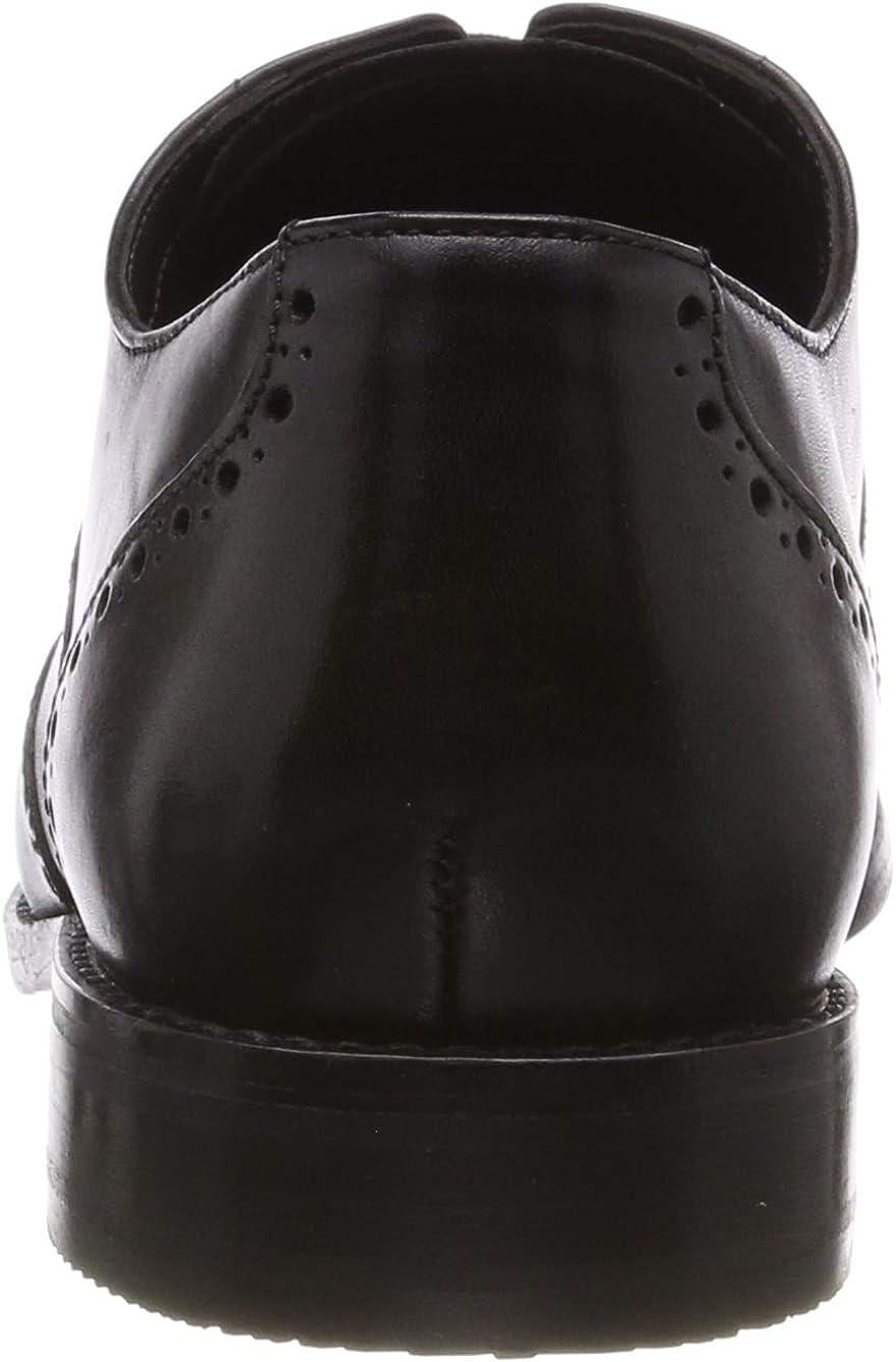Clarks Men's Edward Walk Derbys Black Black Leather