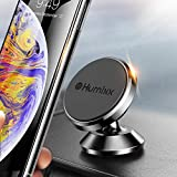 Magnetic Phone Holder for Car, Humixx 360° Adjustable Dashboard Phone Car Mount Compatible with iPhone XS Max iPhone XS X 8 8 Plus 7 7 Plus, Samsung S9 S8, Huawei, HTC, LG, ZTE [Easy Series] - Black