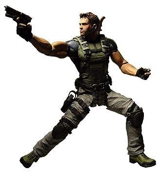 Amazon Com Resident Evil 5 Chris Redfield Action Figure