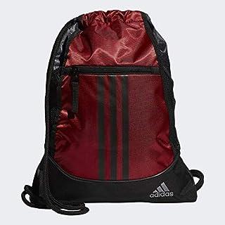 adidas Unisex Alliance II Sackpack, Dapple White/Grey/Flash Red, ONE SIZE