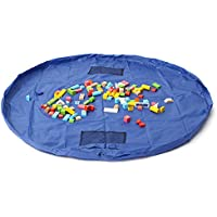 New 1.5m Large Portable Toys Storage Bag Kids Children Room Tidy Up Toy Bag Carpet Rug By KTOY
