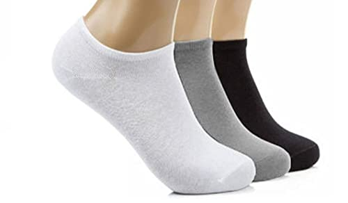 12 Pairs Mens Sport Performance Trainer Low cut Socks - Size 6-11