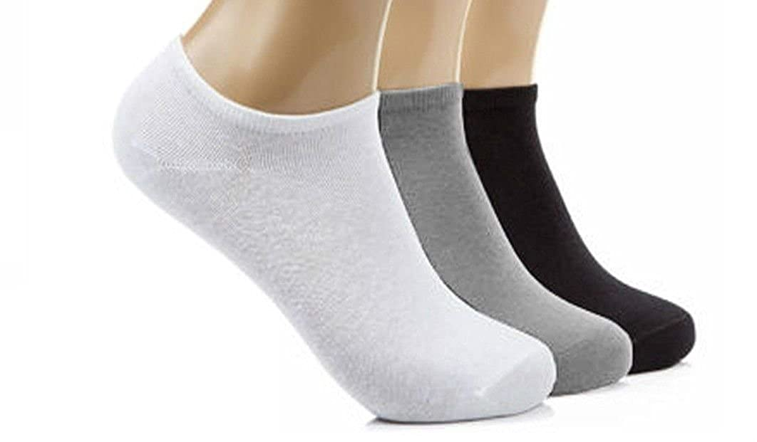 Size 6-11 12 Pairs Mens Sport Performance Trainer Low cut Socks