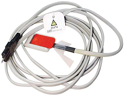 Medline Industries 21174ABC Reusable Electrosurgical Cables for ABC Pads, Series 21100, 10'