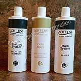 Keratin Brazilian Treatment kit 16oz Gold Maya Soft Liss