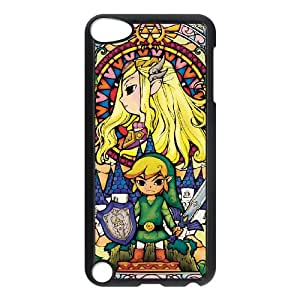 iPod Touch 5 Case Black Legend of Zelda gwrl