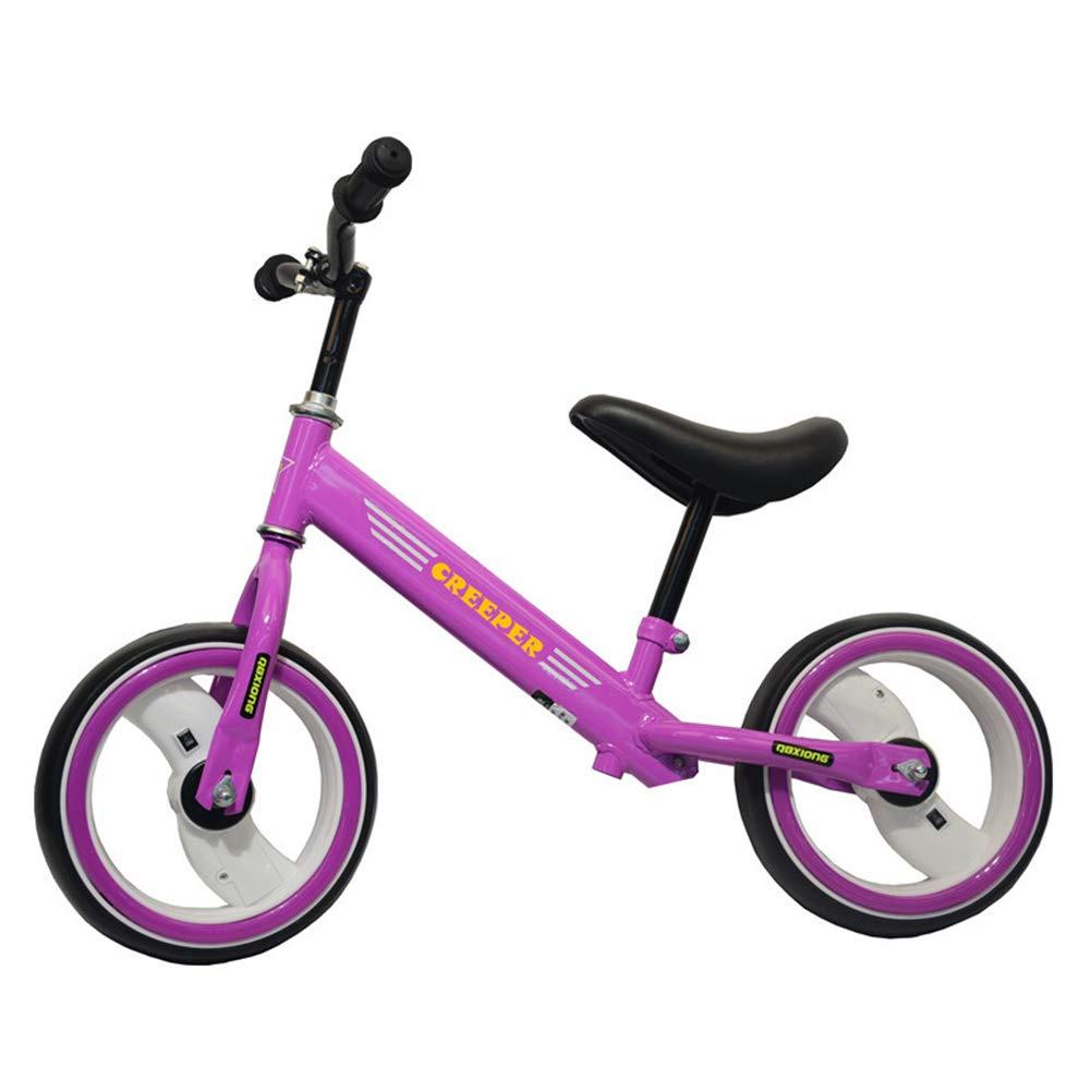 XUE Balance Bike para niños, de Confianza por los Padres | Ilumine el Asiento Ajustable y cómodo, neumáticos durables, Edades 2-6 Ninguna Bicicleta del Entrenamiento del Deporte del Pedal