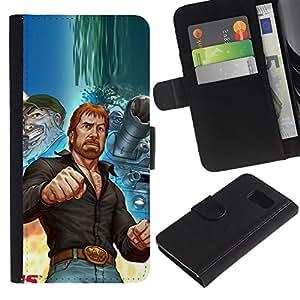 All Phone Most Case / Oferta Especial Cáscara Funda de cuero Monedero Cubierta de proteccion Caso / Wallet Case for Sony Xperia Z3 Compact // Tough Man Kung Fu Martial Arts Tank Ussr