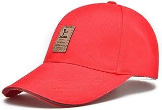 Jeerui Berretti da Baseball per Cappelli da Sole per Il Tempo Libero di Berretto da Baseball con Cappuccio in Cotone Regolabile per Uomo e Donna
