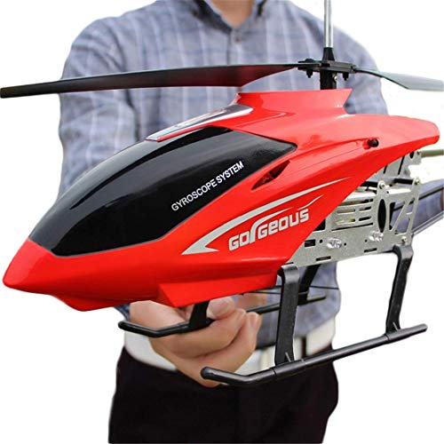 Rc Remote Contro Lhelicopter Aircraft Toys 3.5 Channel 80Cm Length Indoor Outdoor Children's Kids Christmas Hobby Radio Plane Toy Crashworthiness