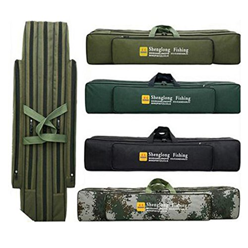 Rod Fishing Bag 3 Layer Case Tackle 80cm - 2