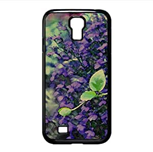 Purple Flowers Watercolor style Cover Samsung Galaxy S4 I9500 Case (Flowers Watercolor style Cover Samsung Galaxy S4 I9500 Case)