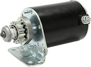 TOPSCOPE Starter Motor Compatible with 1999-2006 Cub Cadet 1998-2010 John Deere 2002-2011 Sabo 2000-2005 Scotts 1999-2010 Toro Replace # 593934 693551 LG693551 BS693551