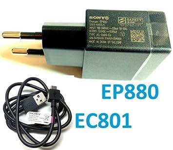 Original Cargador Sony Ericsson Micro USB EP880 EP 880 + ...