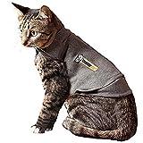 Thundershirt M Heather Grey Cat by Thundershirt.com
