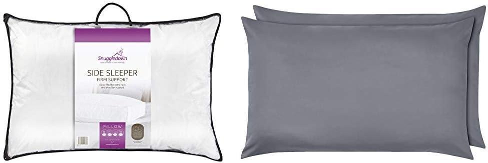 Snuggledown Side Sleeper Pillow, Firm