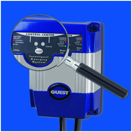 Buy guest 16061 marine battery charger 6-amp