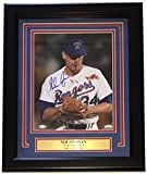 Nolan Ryan Signed Framed 8x10 Texas Rangers Ventura Fight Photo SI+Ryan Holo