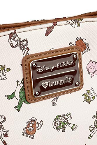 Loungefly Character Toy Story Pixar Crossbody Bag x Allover Disney Tote Print TTwP1FH