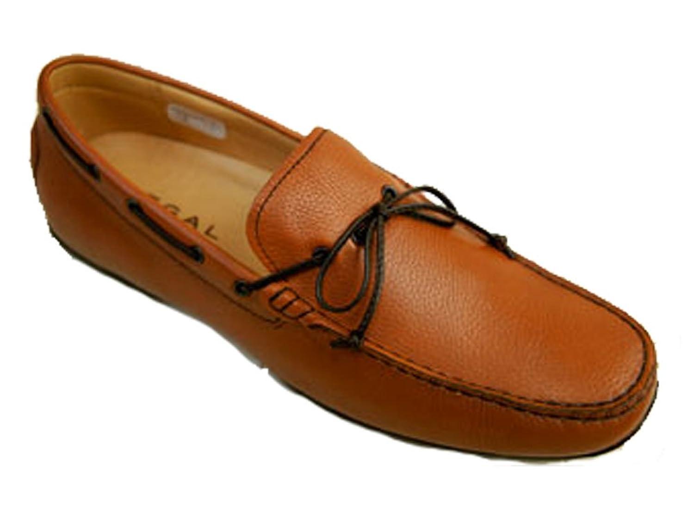 (ドライビング) 靴 (ネイビー) ・52JR メンズ 牛革ヴァンプ 【REGAL(リーガル)】 /