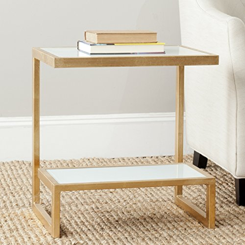 Safavieh Home Collection Kennedy Gold Accent Table by Safavieh