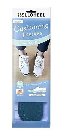 HELLOHEEL Supper Soft Latex Foam Cushioning pad insoles For Foot Care  (Green)  Amazon.co.uk  Clothing f7eeaa8a1