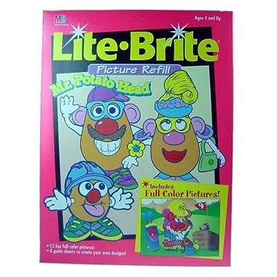 Lite Brite Mr. Potato Head Picture Refill: Toys & Games
