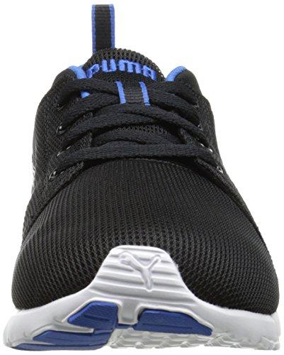 Puma , Herren Laufschuhe mehrfarbig schwarz / weiß, schwarz - Black/Strong Blue - Größe: 41 EU M