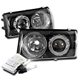 97 chevy hid headlight kit - ZMAUTOPARTS 1997-2004 Chevy Corvette C5 Black Projector Headlights Headlamps with 6000K HID Conversion Kit