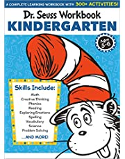 Dr. Seuss Workbook: Kindergarten: 300+ Fun Activities with Stickers and More! (Math, Phonics, Reading, Spelling, Vocabulary, Science, Problem Solving, Exploring Emotions)
