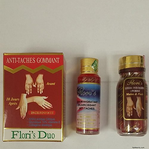 Flori's Duo Anti Taches Gommant Serum and Lotion by Flori's Duo