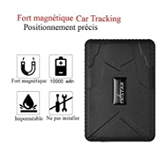 Mini GPS Tracker, TKSTAR Magnetic Mini GPS Tracker 60 días de ...