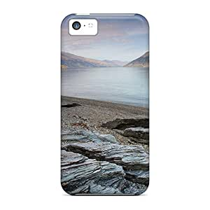 New Style Eonon Rock Textures On A Fjord Beach In New Zeal Premium Tpu Cover Case For Iphone 5c